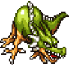 DQIIiOS - Green dragon