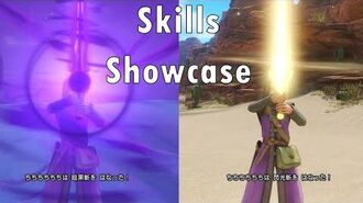 Character Skills Showcase - Dragon Quest XI