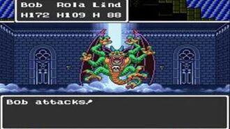 Dragon Quest II (SNES) Final Battle Ending