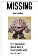 Missing DQ Monster Poster 13