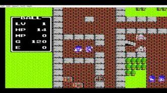 Dragon Warrior (NES) Generation Game-Over