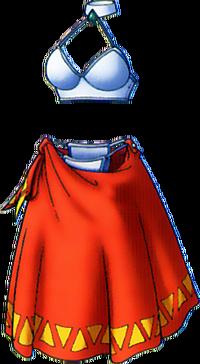 DQVIII - Dancer's costume