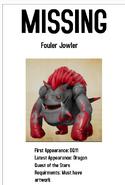 Missing DQ Monster Poster 20