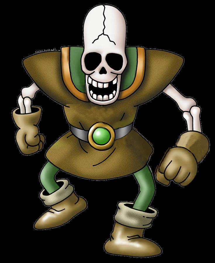 DQ - Skeleton srapper