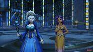 Queen Cletia and Maya