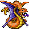 DQXI - Sail serpent 2D