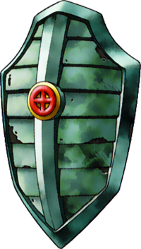 DQVIII - Bronze shield