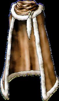 DQVIII - Leather cape