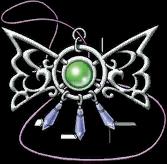DQH - Papillion pendant