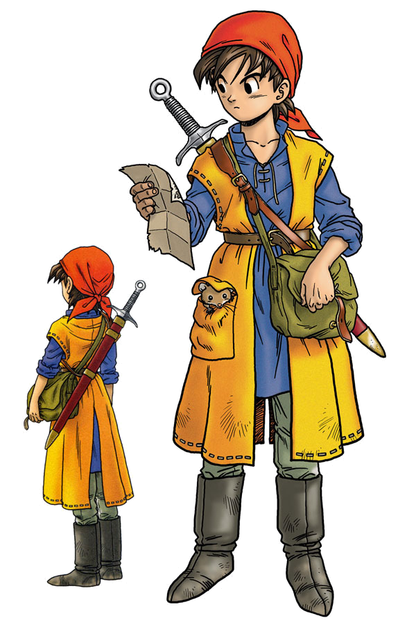 Dragon Quest Wikipedia: Hero (Dragon Quest VIII)