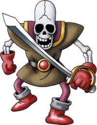 DQIVDS - Skeleton swordsman