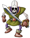 DQVIII - Skeleton soldier