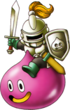 DQX - Snooty slime knight