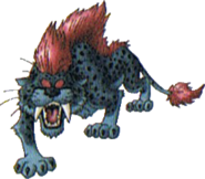 DQMJ3 - Dark sabrecat