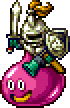 DQXI - Snooty slime knight 2D