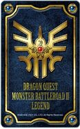 Monster Battle Road II Legend Emblem of Roto card holder