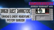 Dragon Quest Characters Torneko's Great Adventure 1 Mystery Dungeon SNES