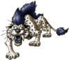 Silver Sabrecat