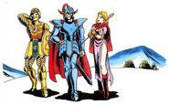 Dragon Quest II heroes strolling