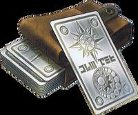 DQIVDS - Silver tarot cards