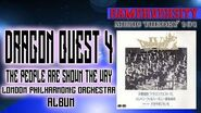 Dragon Quest 4 the People are Shown the Way Symphonic Suite London Philharmonic Orchestra