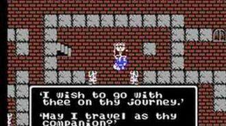 Dragon Warrior (NES) Final Battle Ending