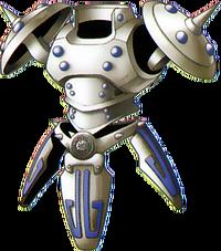 DQVIII - Liquid metal armour