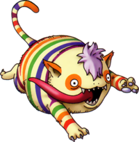 DQX - Rainbow kitty