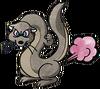 Flatulent ferret