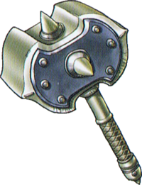 DQVII3DS - War hammer
