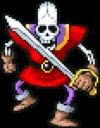 DQiOS - Skeleton soldier