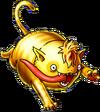 DQVIII3DS - Gold nugcat