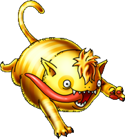 DQVIII3DS - Gold nugcat