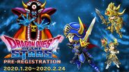 Dragon Quest of the Stars pre-registration promo
