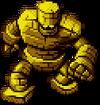 DQXI - Gold golem 2D