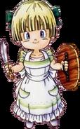 DQV - Hero's Daughter in Silk apron