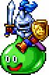 DQXI - Slime knight 2D