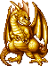 DQXI - Great dragon 2D