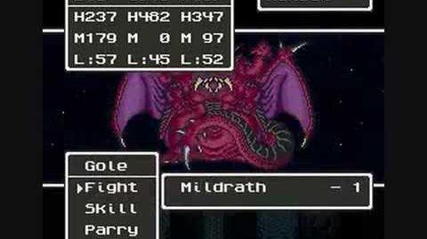 Dragon Quest 5 Final Boss - Mildrath