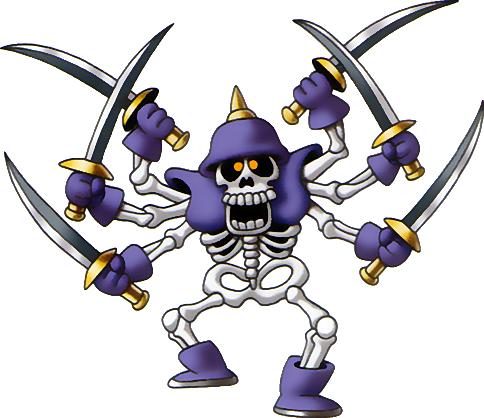 File:DQIII - Skeleton swordsman.png