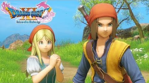 DRAGON QUEST XI – DRAGON QUEST VIII Costume Reveal Trailer