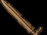 Copper sword