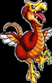 DQVII3DS - Oligarchaeopteryx