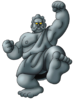 DQVIII - Living statue