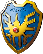 DQXI - Erdrick's shield