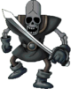 DQVIII - Dark skeleton
