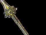Liquid metal spear