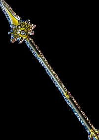 DQVIII - Metal king spear
