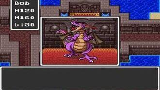 Dragon Quest (SNES) Final Battle Ending