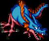 DQXI - Blue dragon 2D